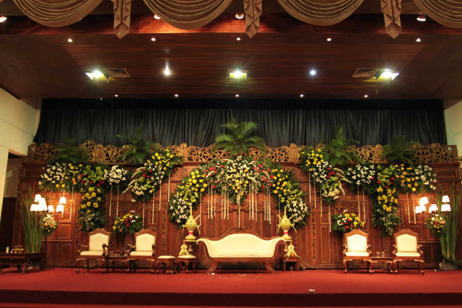 dekorasi jawa graha saba Event Wedding solo